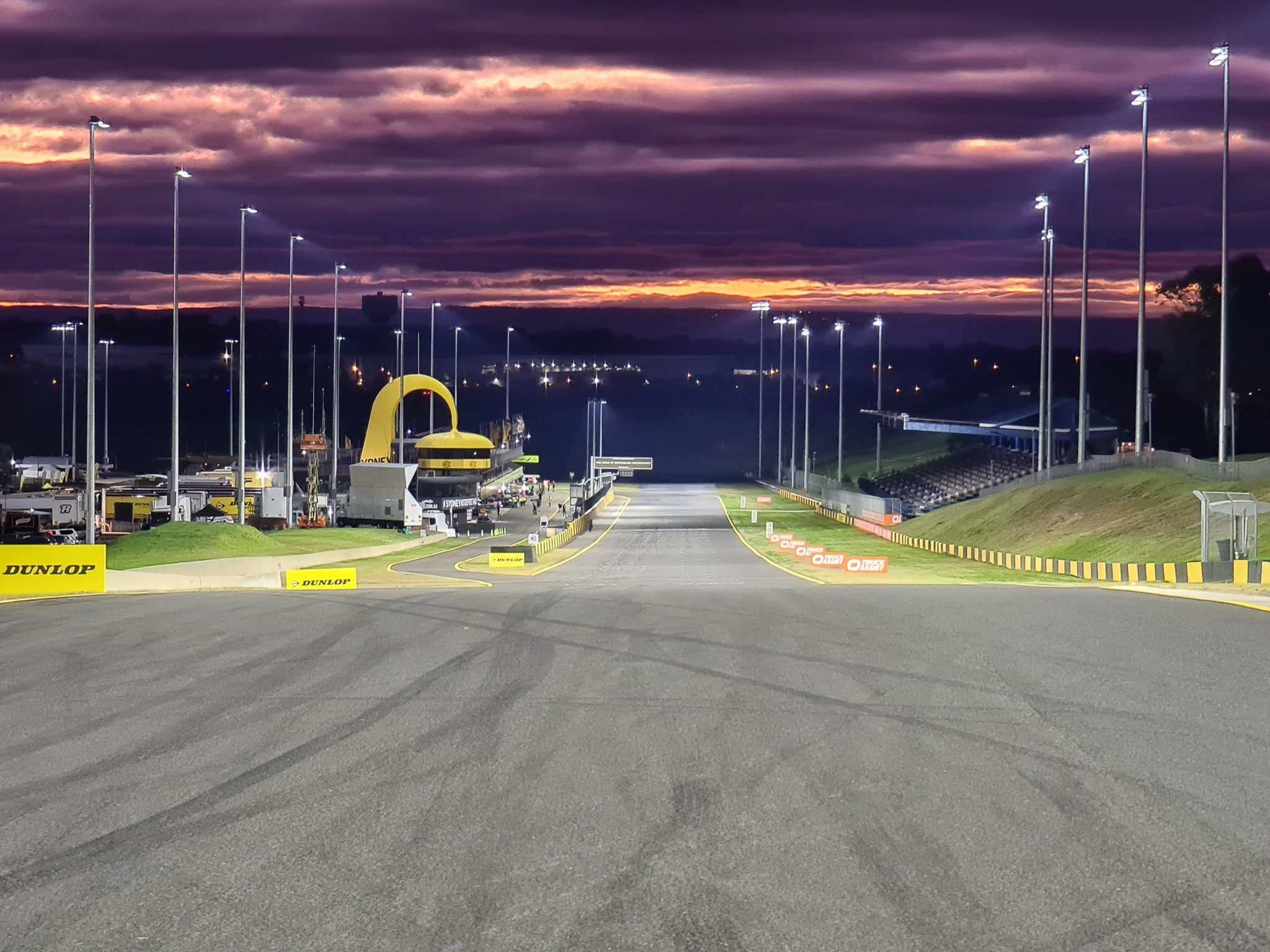 Eastern Creek Sydney Motorsport Park Track Night with Simply Sports Cars Dealership for Lotus