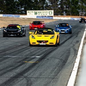 Lotus Exclusive Track Day at Wakefield Park Raceway Goulburn