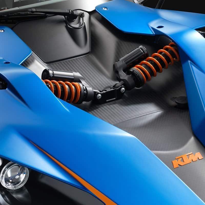 KTM X BOW sports car suspension