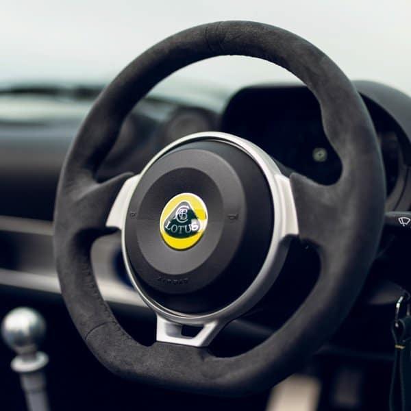 Lotus Elise Final Edition new steering wheel design