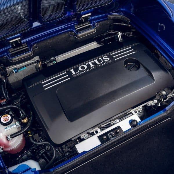 Lotus Elise engine bay photo