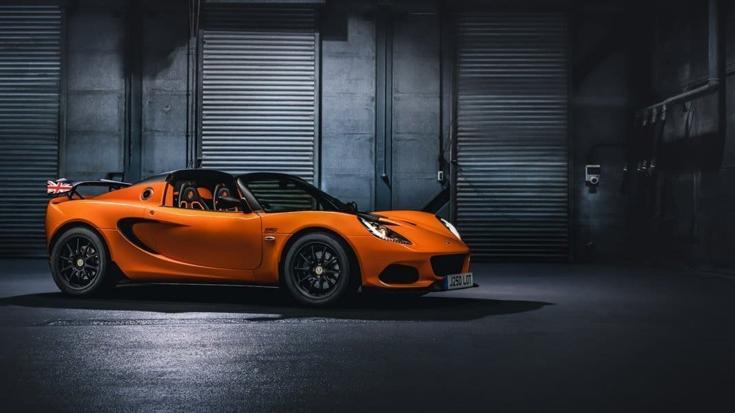 Lotus Elise sports car range available for sale in Australia
