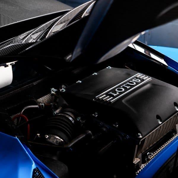 Lotus Evora GT engine bay photo