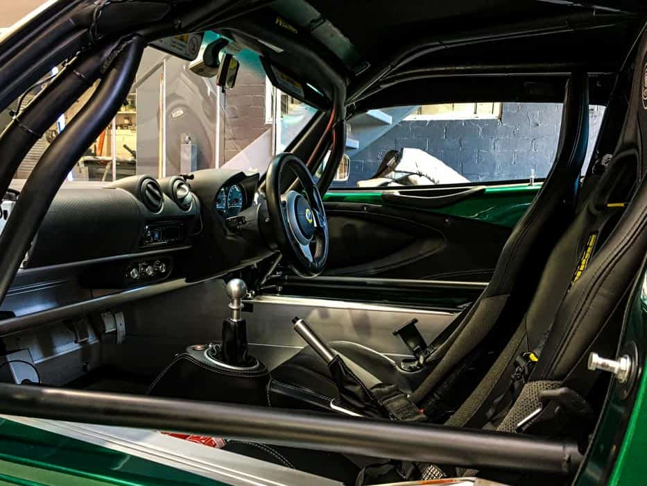 Simply Sports Cars motorsport installations of roll cage and safety equipment
