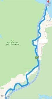 Australian Roads For Sports Car Driving Enthusiasts Berowra to Cowan