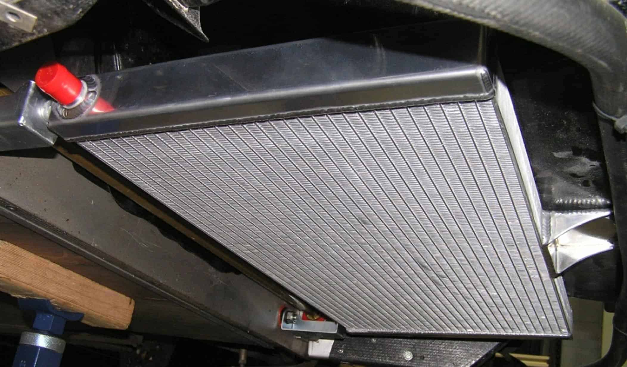 CC Radiator mounted to an Elise or Exige