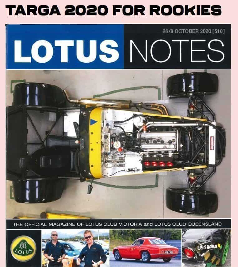 Drew Dundas does a Targa Rally for the first time in a Lotus Elise Door Sports Car Under K