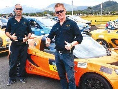 Drew Dundas does a Targa Rally in a Lotus Elise Door Sports Car Under K