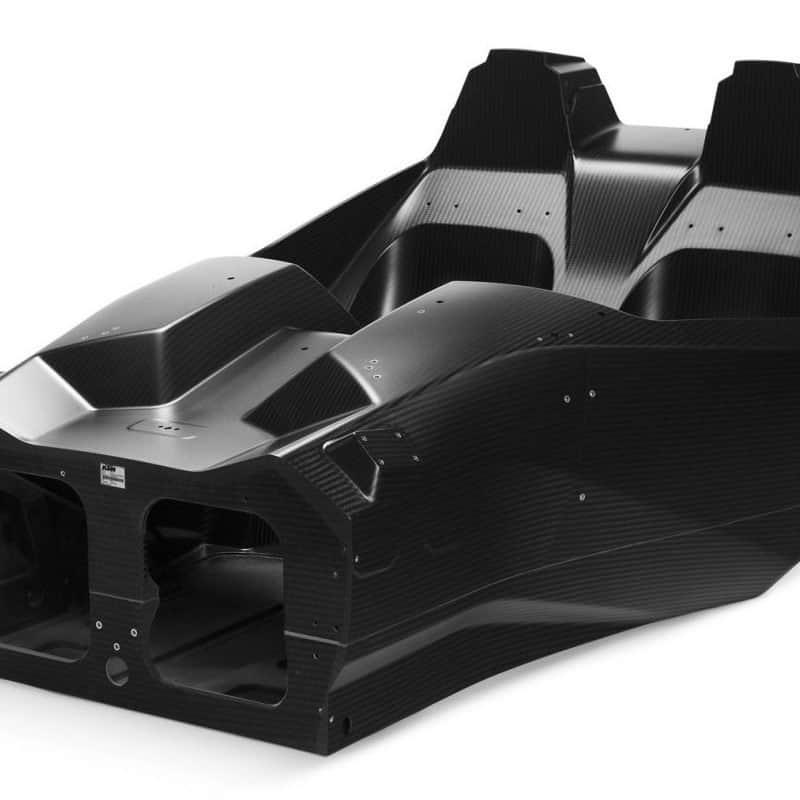 KTM X BOW carbon fibre chassis