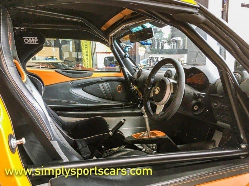 Lotus Sports Cars Targa Tarmac Rally Preparation roll cage installation