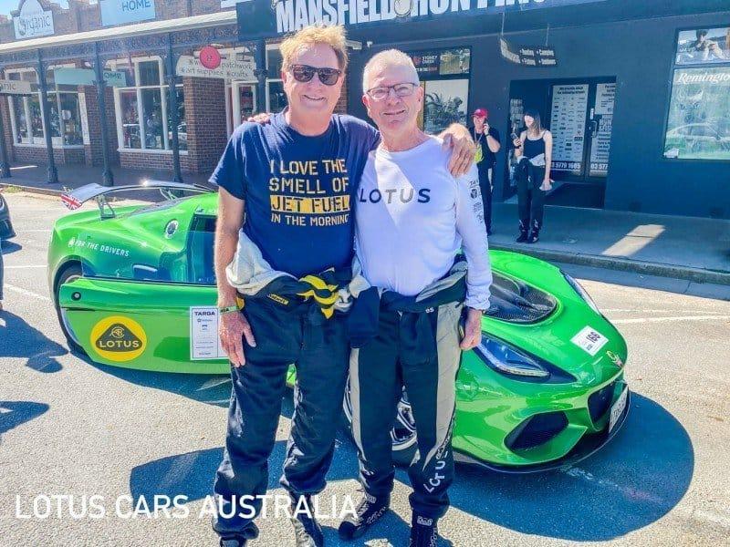 Lotus Sports Cars at Targa High Country February Robert Bryden