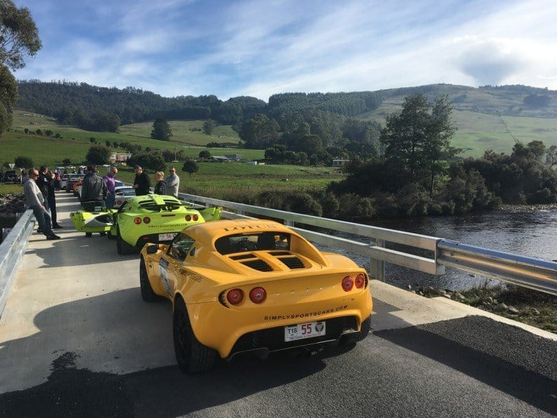 Drew does his first targa tarmac rally in a Lotus Elise