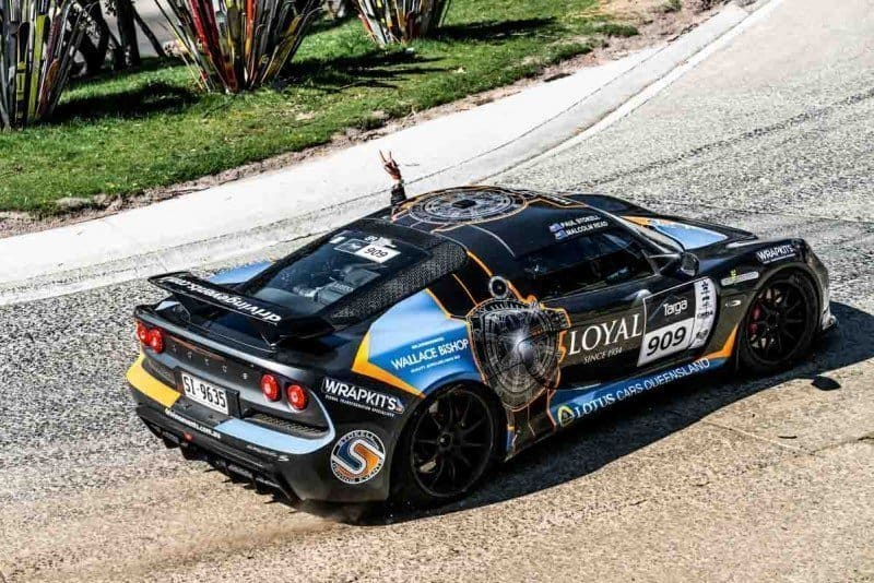 What is the best car for a Targa Rally in Australia High Country Mount Buller Paul Stokell Lotus Exige of
