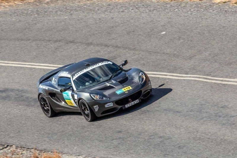 What is the best car for a Targa Rally in Australia Lotus Elise supercharged sports car of