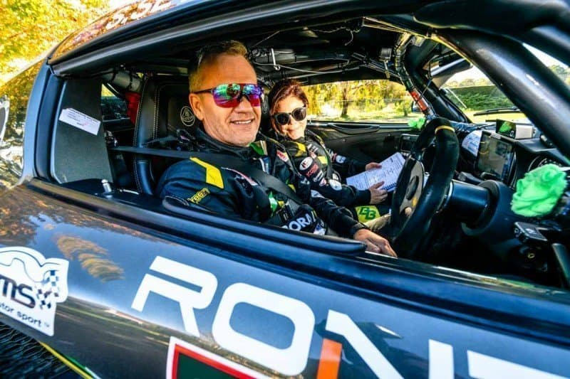 What is the best car for a Targa Rally in Australia husband and wife competing in GT Sports Trophy in a Lotus Exige performance car of